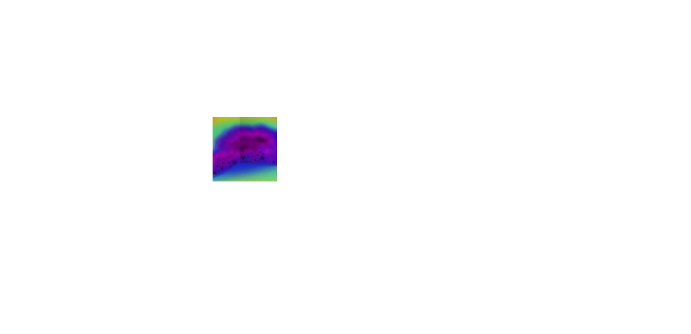 Imagen termográfica compatible con humedad de cimientos