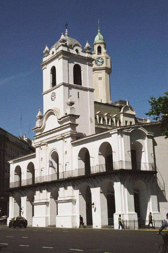Cabildo de Buenos Aires Watertec humedad de cimientos