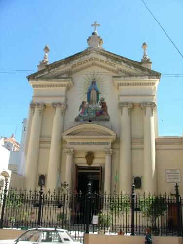 Iglesia Mater Misericordiae Watertec Humedad de Cimientos