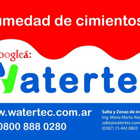 Watertec Humedad de Cimientos Salta