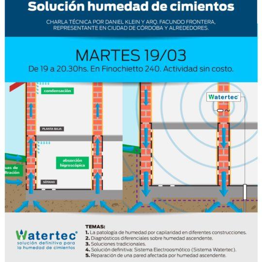 Watertec Colegio Arquitectos Córdoba